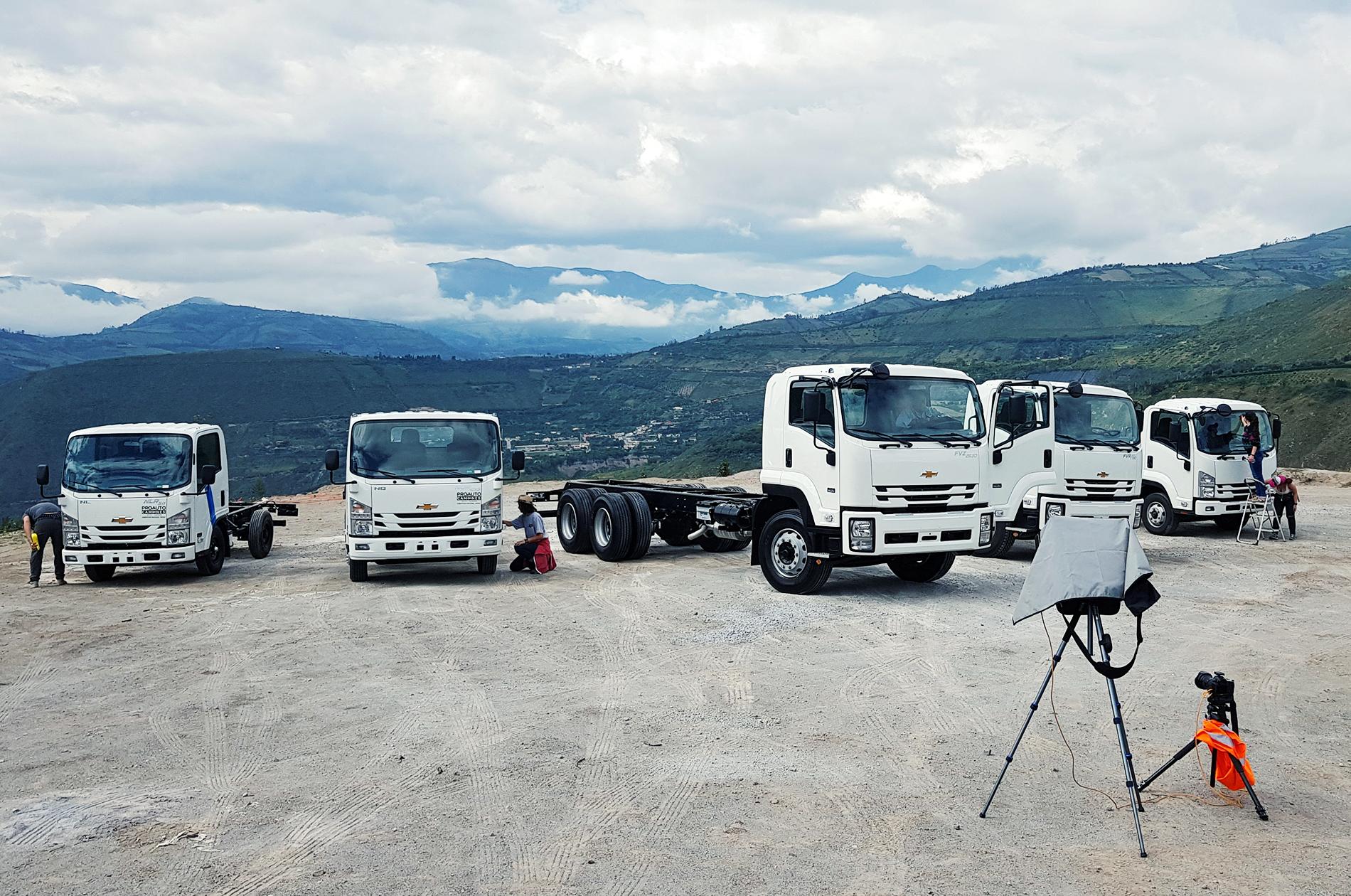 CAMIONES GM TIROS DE CÁMARA
